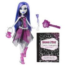 Monster High Spectra Vondergeist Doll Con Mascotas Ferret Rh