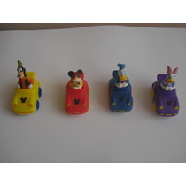 Lote 4 Carritos Disney De Coleccion