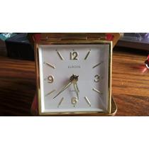 Reloj Despertador Aleman Antiguo Mecanico Cuerda Funcionando