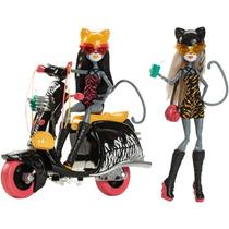Monster High Meowlody Y Purrsephone Wheelin