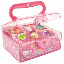 Joyero Con Accesorios , Importada Hello Kitty