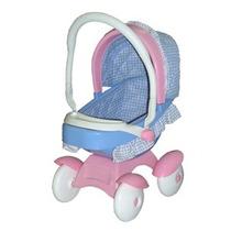 Carriola 2 En 1 Doll Stroller Azul Con Rosa