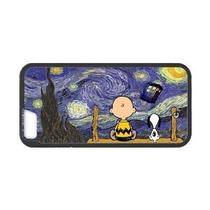 Personalizado Lindo De La Historieta Peanuts Snoopy La Noche