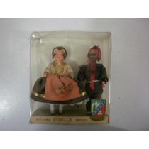 Muñecos Antiguos Franceses Marca Cybelle De Los Años 50s