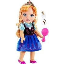 Disney Congelado Niño Anna Doll-nueva Reales Ojos De Reflex