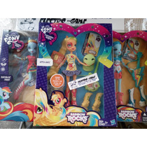 My Little Pony*equestria Girls*3 Modelos-nueva,hasbro*promo*