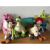Colección De Tela Toy Story 40 Cms 7 Muñecos