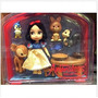 Disney Auténtica Blancanieves 5 Pulgadas Animador Doll Ocupa