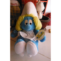 Peluche The Smurfs Pitufina By Peyo Edicion 1999 Pitufos
