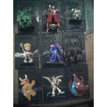 Yu Gi Oh Monstruos Mini Figuras C/ Carta Plastico $60 C/u