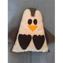 Pingüino De Tela Y Fieltro