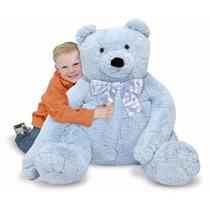 Tb Oso De Peluche Melissa & Doug Jumbo Blue Teddy Bear