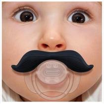 bigote En Forma De Chupete-divertido De Silicona