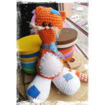 Gatito Tejido En Crochet