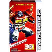 Platinum Series Year Of The Horse - Mp-10 Optimus Prime 30th
