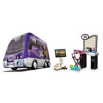 Justin Biber Rock Tour Bus Completo Con Muñeco Op4