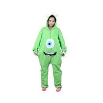 Rnmomo Unisex-adulto Kigurumi Onesie Monsters Mike Pijamas