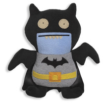 Tb Peluche Uglydoll Dc Comics Black Ice-bat As Batman