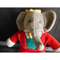 Peluche King Babar Gund Elefante Rey By Jean De Brunhoff