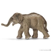 Elefante Asiático Figurita - Schleich Vida Silvestre Terner