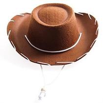 Marrón Infantil Fieltro Sombrero De Vaquero