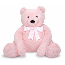 Tb Oso De Peluche Melissa & Doug Jumbo Pink Teddy Bear