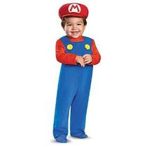 Mario Infantil Disfraz Niños Bebés
