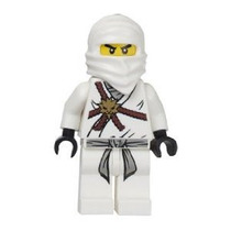 Lego Ninjago Zane - Minifigure White Ninja