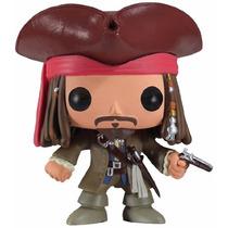 Funko Pop Piratas Del Caribe Muñeco De Jack Sparrow Blakh Sp