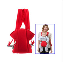 Portador De Bebé Con Multiposición (rojo)