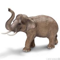 Elefante Asiático Figurita - Schleich Vida Silvestre Mascul