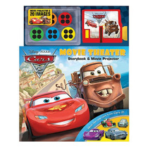 Disney Pixar Cars 2 Película Teatro Libro