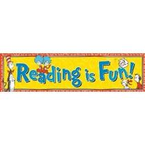 Eureka Dr. Seuss Aula Banner Gato En El Sombrero Lectura Es
