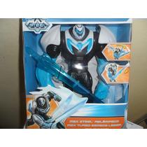 Max Steel Max Turbo Espada Laser Mattel