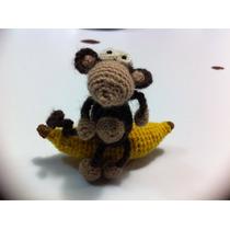 Chango Amigurumi Tejido Lana Crochet