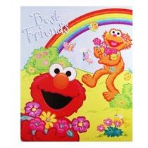 Sesame Street Elmo Y Zoe Snuggle Manta