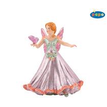Rosa Elf Altura - Papo Juguete Mariposa Niños Modelo Fantas