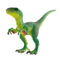 Dinosaurio - Schleich Velociraptor Verdes Animales Prehistó