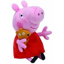 Muñeco De Peluche Ty Beanie Babies Peppa Pig Regular
