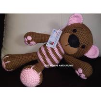 Oso Amigurumi Crochet Marca Que Monos Amigurumis