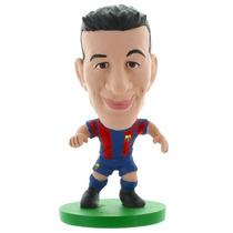 Busquets Fútbol Altura - Soccerstarz Barça Toon Kit De Ini