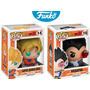 Set Goku Vegeta Dragon Ball Z Funko Pop Esferas Del Dragon