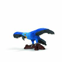 Toy Loro - Schleich Guacamayo Jacinto Mundo De La Naturaleza