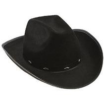Canguro Negro Fieltro Sombrero De Vaquero