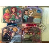 Disney Oficial La Sirenita Ariel Mini Animador Doll Playset