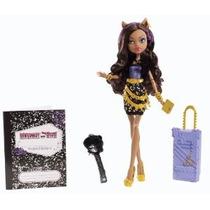 Monster High Travel Scaris Clawdeen Lobo Doll