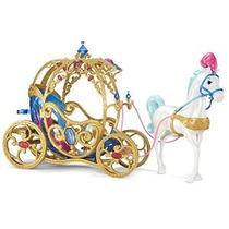 Disney Princess Cinderella Caballo Y Carro
