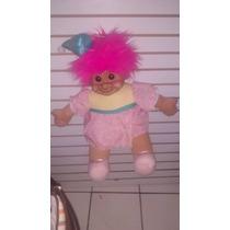 Troll Peluche Gigante Pelo Rosa Trolls Pink Happy Birtday
