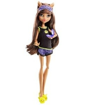 Monster High Dead Tired Clawdeen Lobo Doll