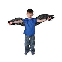 Childs Niños Chicos Negro Condor Aves Alas Disfraz De Acceso